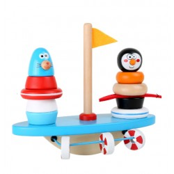 Balançoire pingouin et phoque