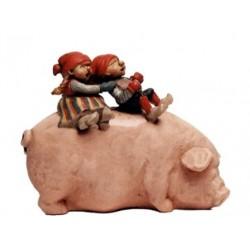Nisser sur cochon