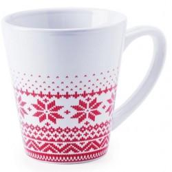 2 tasses motif tricot