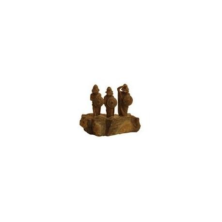 3 vikings sur pierre